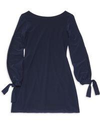 Un Deux Trois - Girl's Long Sleeve Knit Dress - Lyst