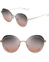 584d47d0cbc0 Dita Eyewear - Nightbird Two 58mm Round Sunglasses - Lyst