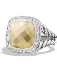 David Yurman - Albion Ring With Diamonds - Lyst