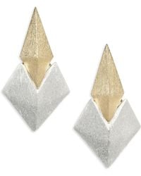Stephanie Kantis | Battle Two-tone Earrings | Lyst