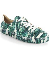 Schutz | Chayton Palm Sneakers | Lyst