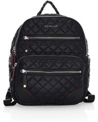 MZ Wallace - Small Crosby Quilted Backpack - Lyst