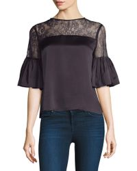 Cami NYC - Shauna Lace Top - Lyst
