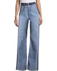 Tommy Hilfiger - Wide Leg Jeans - Lyst