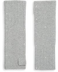 Portolano - Embellished Gloves - Lyst