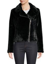 Rebecca Minkoff - Henderson Faux Fur Jacket - Lyst