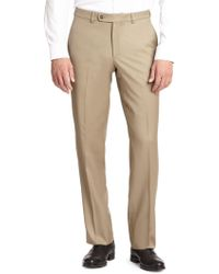 Saks Fifth Avenue - K-body Wool Dress Pants - Lyst