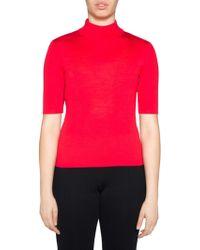 Stizzoli - Mockneck Sweater - Lyst