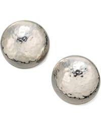 Ippolita - Glamazon Sterling Silver Button Earrings - Lyst