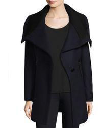 Trina Turk - Maddi Asymmetrical Coat - Lyst