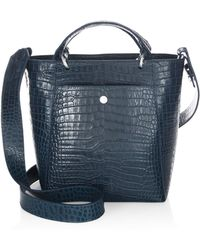 Elizabeth and James - Eloise Petit Scaled Leather Tote - Lyst