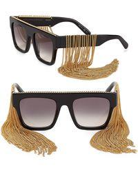 Stella McCartney - Falabella Chain Sunglasses - Lyst