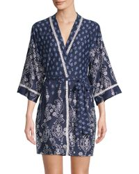 In Bloom - Dandelion Wrap Robe - Lyst