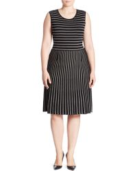 Stizzoli - Zigzag Striped Dress - Lyst