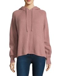 360cashmere - Babe Embroidered Hoodie - Lyst