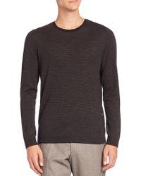 Strellson - Virgin Wool & Silk Sweater - Lyst