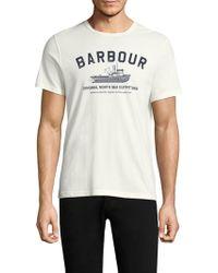 Barbour - Barta Cotton Tee - Lyst