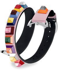 Fendi - Selleria Studded Watch Strap - Lyst