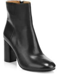 Joie - Lara Leather Ankle Boots - Lyst