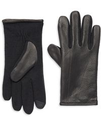 Polo Ralph Lauren - Hybrid Touch Leather Gloves - Lyst
