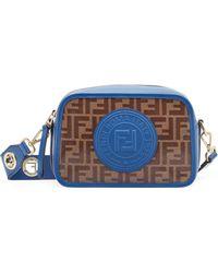 3c6a98832570 Fendi Camera Leather Crossbody Bag in Red - Lyst