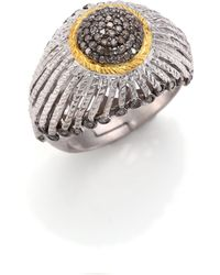 Coomi - Diamond, 20k Yellow Gold & Sterling Silver Ring - Lyst