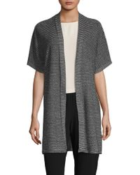 Eileen Fisher - Kimono Short Sleeve Cardigan - Lyst