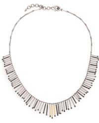 Coomi | Diamond, 20k Yellow Gold & Sterling Silver Necklace | Lyst