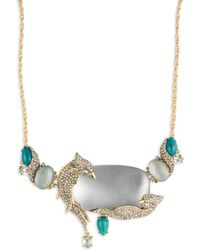 Alexis Bittar - Love Bird Statement Necklace - Lyst