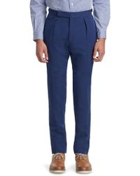 Polo Ralph Lauren - Compact Double Self Trousers - Lyst