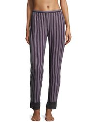 Saks Fifth Avenue - Lori Striped Pants - Lyst