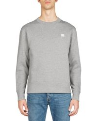 Acne | Nalon Wool Sweatshirt | Lyst