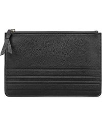 Graphic Image - Large Pebbled Leather Pouch - Lyst
