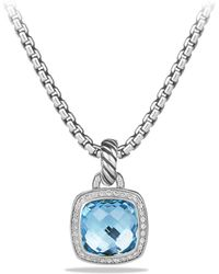 David Yurman - Albion Pendant With Diamonds - Lyst