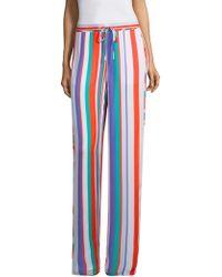 Ramy Brook - Dorota Striped Silk Pants - Lyst