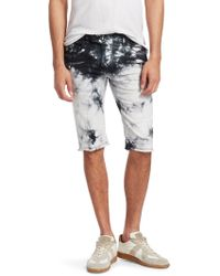 Balmain - Tie Dye Shorts - Lyst