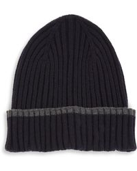 Saks Fifth Avenue | Collection Tipping Modern Beanie | Lyst