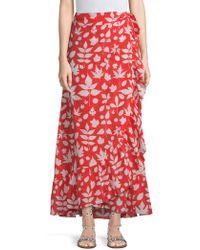 Carolina K - Lola Ruffle Wrap Skirt - Lyst