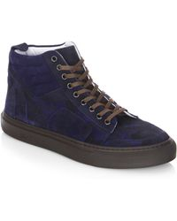 Del Toro - Perforated Camo Sneakers - Lyst