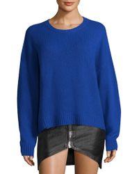 RTA - Emmet Cashmere Crewneck Sweater - Lyst