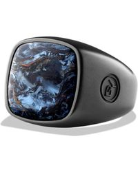 David Yurman - Exotoc Stone Pietersite Ring - Lyst
