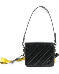 32063dbc423a Off-White c o Virgil Abloh - Mini Metal Flap Shoulder Bag - Lyst