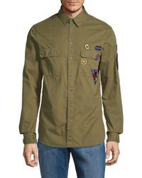 Zadig & Voltaire - Sigmund Disarmy Cotton Button-down Shirt - Lyst