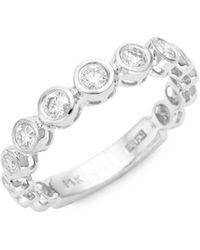 Effy - 14k White Gold Diamond Ring - Lyst