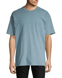 Zanerobe - Heathered Cotton Tee - Lyst