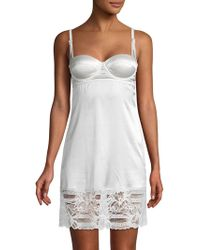 Mimi Holliday by Damaris - Floral Lace Chemise - Lyst