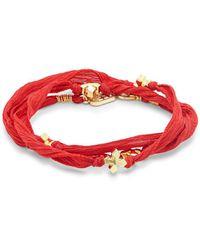 King Baby Studio - Cross Embellished Bracelet - Lyst