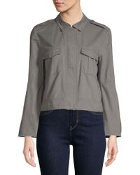 BB Dakota - Jeni Bell-sleeve Utility Jacket - Lyst