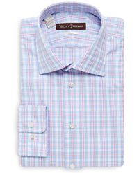 Hickey Freeman - Cotton Classic-fit Dress Shirt - Lyst
