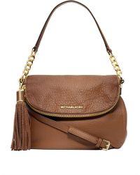 Michael Kors - Bedford Medium Tasseled Leather Crossbody Bag - Lyst